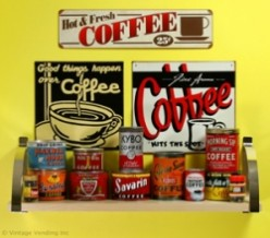 Decorating with Retro Tin Signs