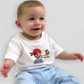 Infant/Toddler T-Shirt. Sizes: 6mo, 12mo, 18mo, 2T, 3T, 4T. Colors: White, Baby Blue, Daffodil Yellow