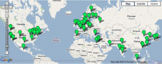 Google Jobs Map