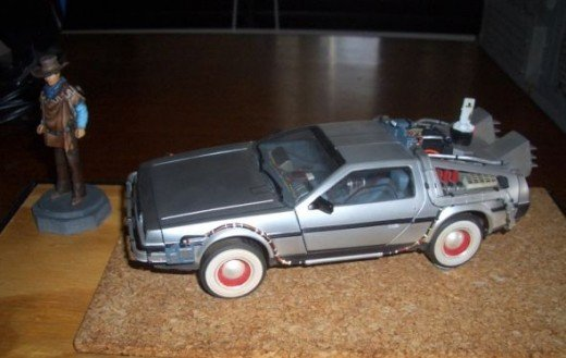 DeLorean Back to the Future 2 Model