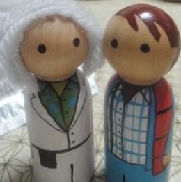 Cute Mini Wooden Figurines!
