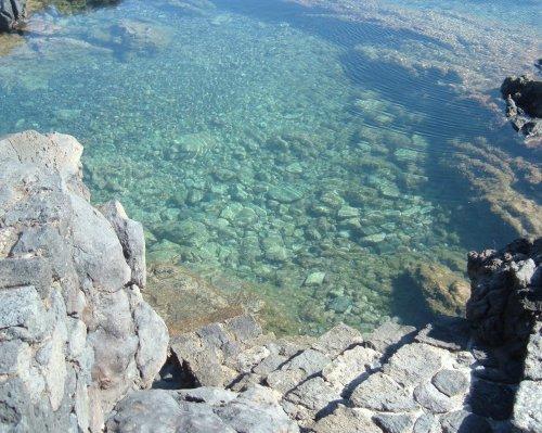 Natural seawater pool