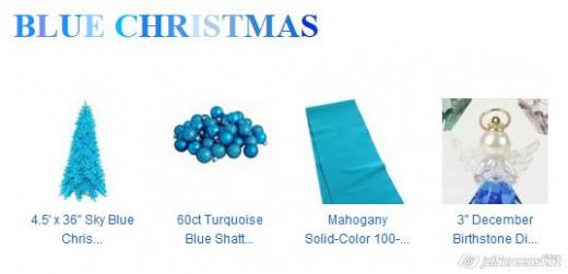 Blue scheme - vitality and freshness.