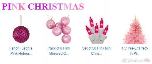 Pink - feminine scheme.