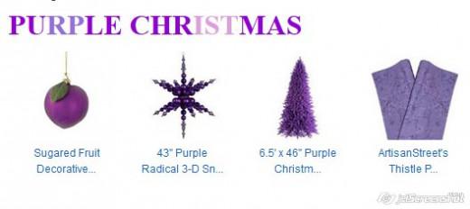 Purple - wisdom and spirituality.