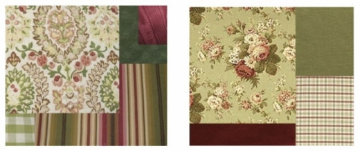 how to mix fabric patterns photos