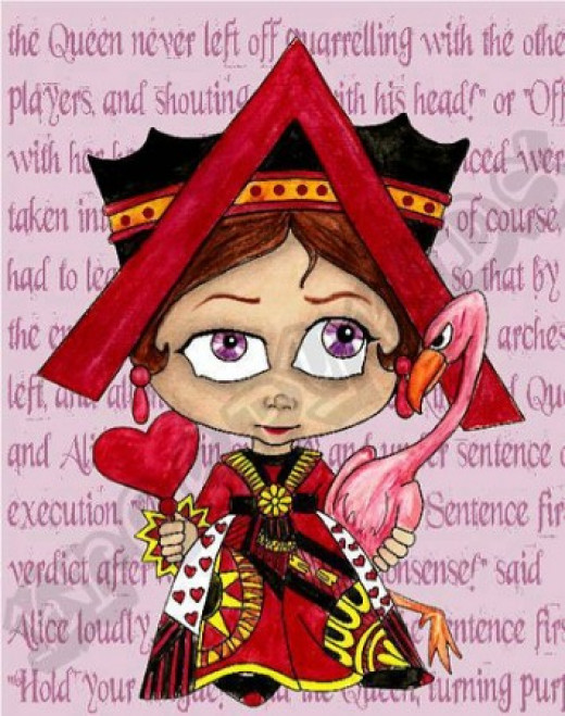 """Queen of Hearts"" by Marti Matthews and Patty MacDonald"