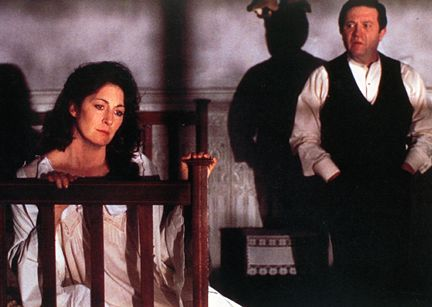Anjelica Huston as Gretta and Donal McCann as Gabriel in John Huston's film version