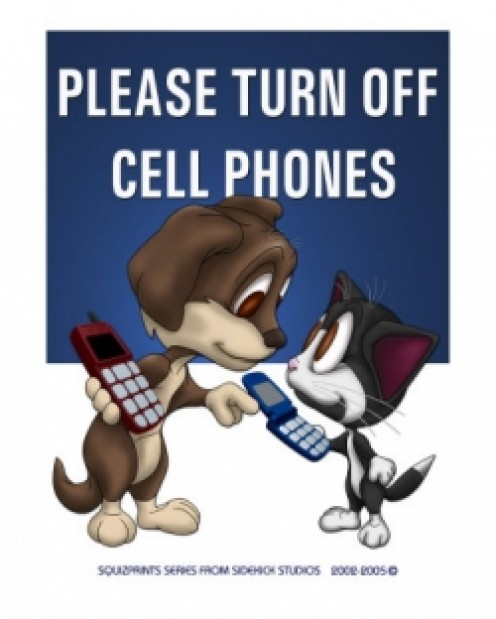 Cell Phones Are a Public Nuisance!