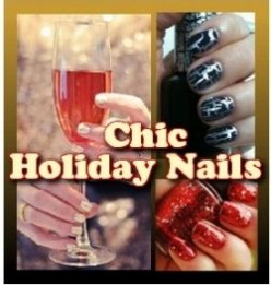Chic Nails For The Holidays - Halloween, Christmas, New Year's Eve