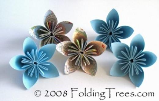 flowers-folding