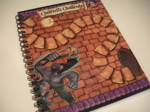Harry Potter board game journal. Photo Credit:  Etsy seller 366thday