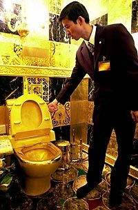 King Midas' Bathroom - Hong Kong