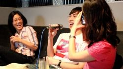 Singing strangers