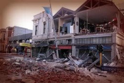 Christchurch earthquake a dark day