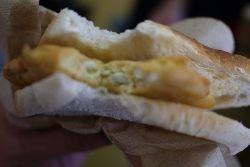 Whitebait sandwich