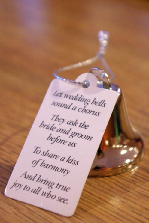 wedding favor bell