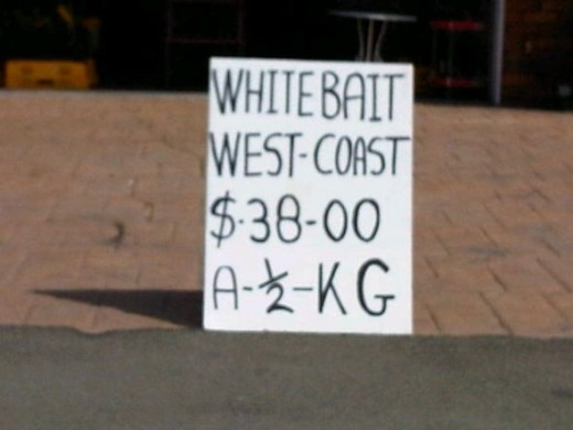 Whitebait for sale