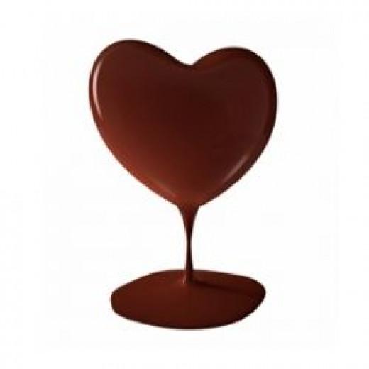 Chocolate Heart Melting