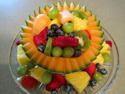Fruit Salad Centerpiece