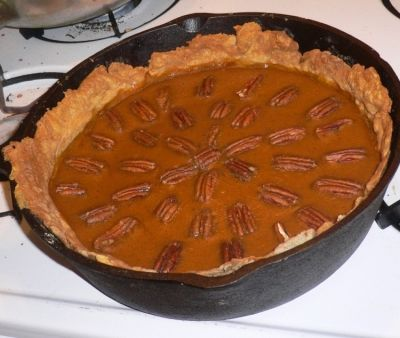 How does it get to be so delicious?  There are roasted pecans on the top, and it is not overly sweet, so you can add a drizzle of warm honey.  Yum!