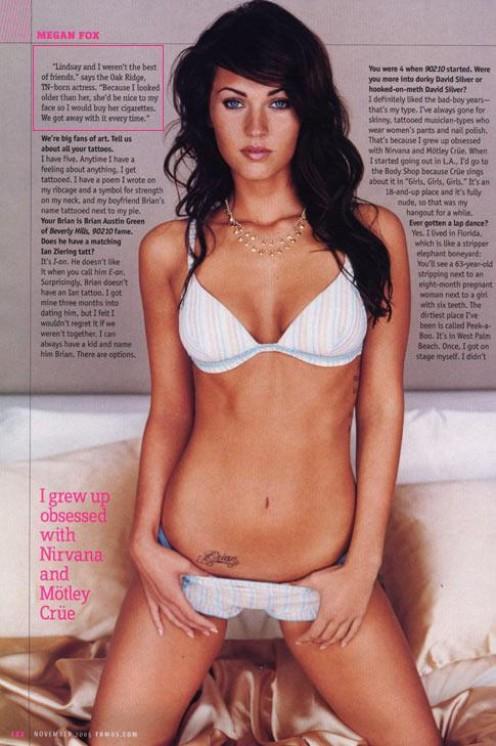 Megan Fox Bikini Photo, So Sexy.