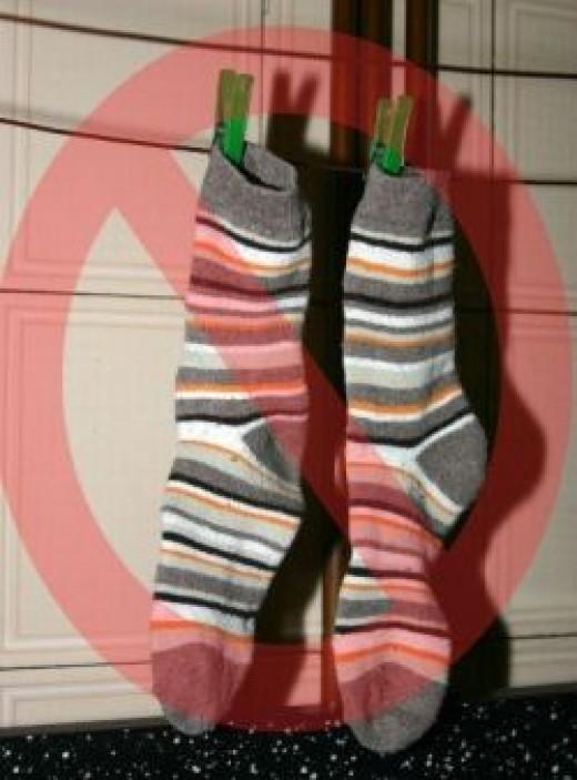 No more socks