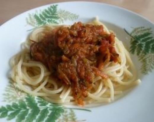 Spaghetti is for Sleep!
