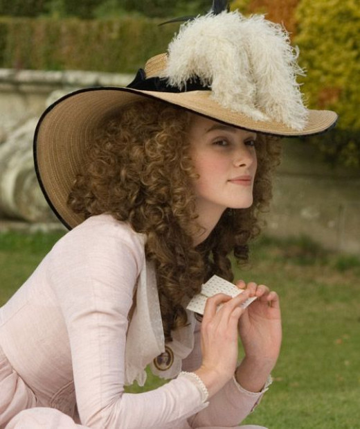 Keira Knightley as Georgiana