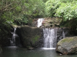 Beautiful waterfalls and natural pools are speciality of resorts