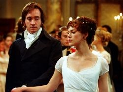 Keira Knightley & Matt Macfadyen in Pride and Prejudice