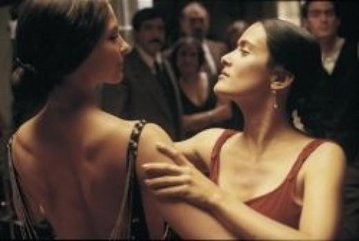 Salma Hayek and Ashley Judd in Frida