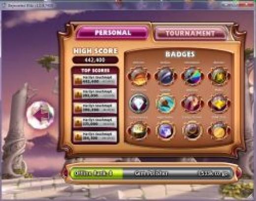 Bejeweled Blitz Badges & Scores Offline