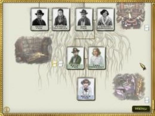 Jewel Quest Heritage Family Tree