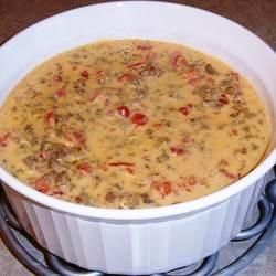 Spicy Rotel Cheese Dip