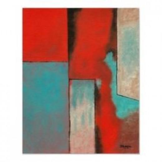 The Corners Of My Mind - Original Art Painting by Itaya