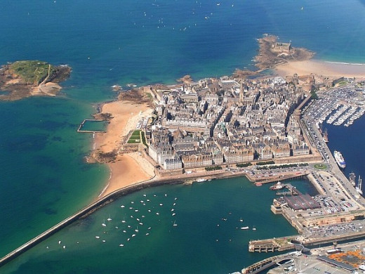 St Malo, Brittany, France - The City of Corsairs