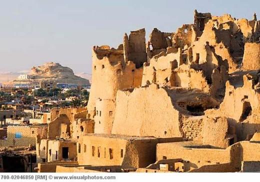 The Ruins of Shali at Siwa Oasis