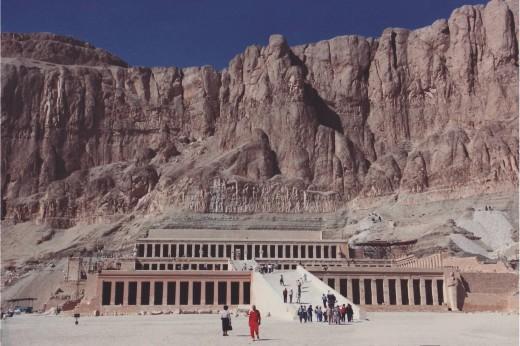 Hatshepsut Temple, Valley of the Kings, Luxor, Upper Egypt