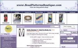 Bead Patterns Boutique shop