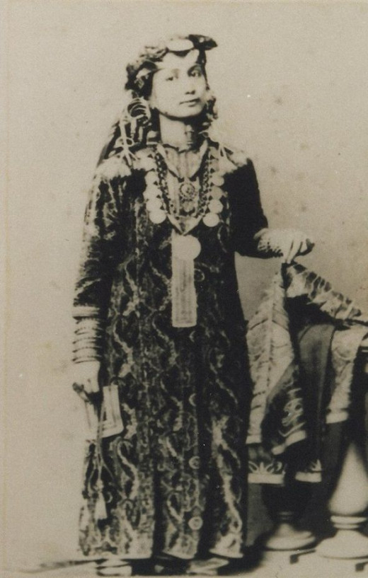 Princess Salme aged 14 (1858)