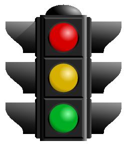 Traffic lights - High, Medium, Low
