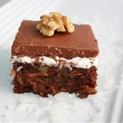 Mississippi Mud Cake With Coconut