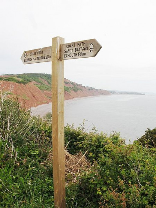 Red Cliffs of the Jurassic Coast