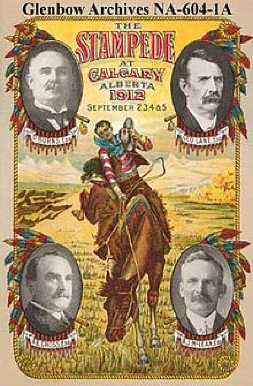 Calgary Stampede Poster for 1912