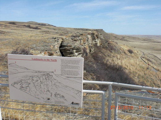 Head Smashed In Buffalo Jump National Park