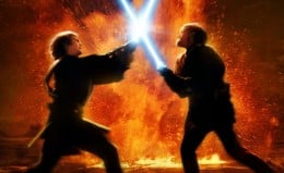 Obi-Wan v Darth Vader (formerly Anakin Skywalker)