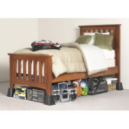 Sturdy Bed On Plastic Bed Risers