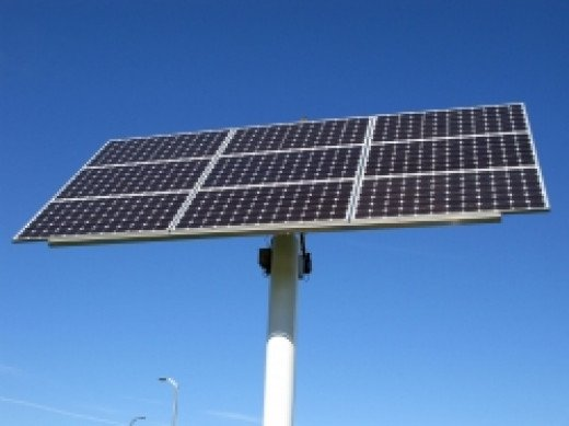 Solar Panels Paid For By Community Grant Money