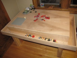 Free Lego Contruction Wooden Table Plan